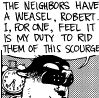 Trust Me! O_O: weasel!!!!