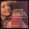 savor these moments (sinecure)