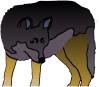 perky, wolfy