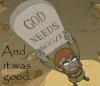 Jill: god needs booze