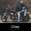 Chaz on Bike