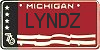 lyndz license plate