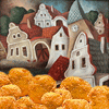 Chicken nugget village by Baheena