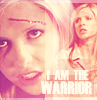 Buffy the warrior by  saava