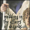 meddling in the affairs of wizards