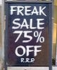 freak sale