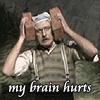 brain hurts