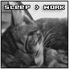 sleep > work