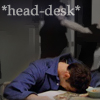 the girl who used to dance on fire and brimstone: head-desk - me