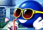 Mr Sunglasses All The Time: cool blue