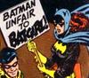 unfair to batgirl