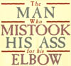ass for his elbow
