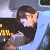 spock at his viewer