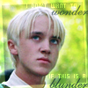 Draco Malfoy: is this a mistake