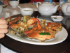 crabs, food, eating