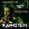 Not Rammstein