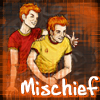 mischief!  Fred and George.