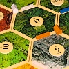 Games: Catan board closeup