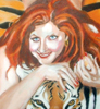 Tiger! (Norm Strite's painting of me), Hey there