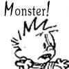 calvin - monster