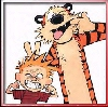 Calvin & Hobbes (Photo Booth)