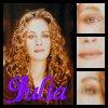 julia curly hair
