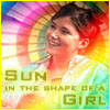 E: sun in the shape of a girl