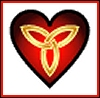 Terri Osborne: celticmist-red/black knotwork heart