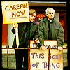 Good ol' Mr. Tusks: [Father Ted] - careful now!
