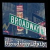 broadway_daily icon - made by buffyspazz