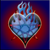 Blue Fire Black Heart