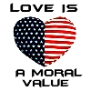 Love is a Moral Value