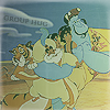 missmanics: group hug aladdin