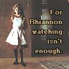rhiannonhero: Rhiannon Watching (by Jacyn)