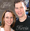 Julie / Kevin - photo by Sheri