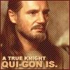 Qui-Gon/A True Knight