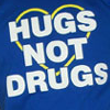 "hugs not drugs from ""princessicons"""