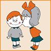 Полина Блинова (Ульшина): дети_поцелуй