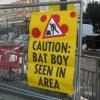Bat Boy - Construction Sign