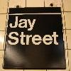 Sign: Jay Street
