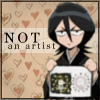 Kuchiki Rukia - Not an Artist
