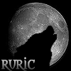 Ruric: Ruric - Santa hat moonwolf