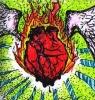 Bleeding Flaming Winged Heart