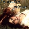 sullen princess - by me