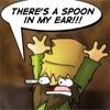 ear in spoon