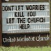the church will help kill you- just like