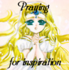 Emeraude - praying for inspiration