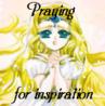 Emeraude - praying for inspiration