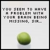 your brain is missing