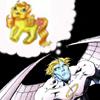 Warren dreams in ponies